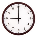 Analog clock Stock Image