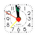Analog clock face Royalty Free Stock Images