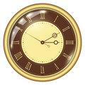 Analog Clock Royalty Free Stock Photo