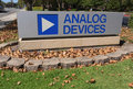 Analog Devices Logo Royalty Free Stock Photography