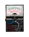 Analog multimeter Royalty Free Stock Photos