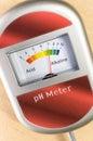 analog soil ph meter Royalty Free Stock Photo