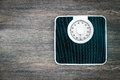 analog weight scale Royalty Free Stock Photo