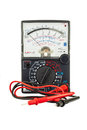 Analogue multimeter Royalty Free Stock Photo