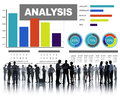 Analysis Analyzing Information Bar Graph Data Statisitc Concept Royalty Free Stock Photo
