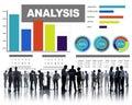 Analysis Analyzing Information Bar Graph Data Statisitc Concept Royalty Free Stock Photo