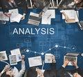 Analytics Business Statistics Strategy Progress Concept Royalty Free Stock Photo