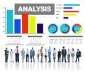 Analyzing Information Bar Graph Data Statistic Concept Royalty Free Stock Photo
