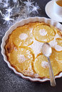 Ananas Clafoutis And Cup Of Gr...