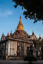 Ananda temple in bagan myanmar Stock Images