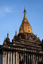 Ananda temple in bagan myanmar Stock Photo