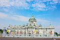 Ananta samakhom throne hall blue sky background Stock Images