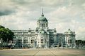 The ananta samakhom throne hall in thailand cloud background Royalty Free Stock Photography
