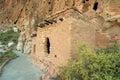 Anasazi cliff dwellings Stock Images