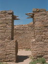 Anasazi Pueblo Doorway Royalty Free Stock Images