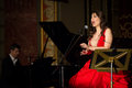 Anastasia zannis born and raised in athens soprano studied at the royal academy of music in london specializing in jazz before Stock Image