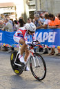 Anastasiia iakovenco russia th place uci road world championshi championships tuscany individual time trial women juniors note Stock Photo