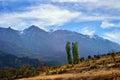 Anatolia turkey landscape view on the taurus mountains Royalty Free Stock Photography