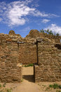Ancestral Puebloan architecture Royalty Free Stock Photo