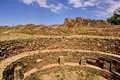 Ancestral Puebloan settlement Royalty Free Stock Photo