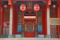 Ancestral Shrine of Koxinga in Tainan, Taiwan Royalty Free Stock Image