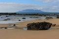 Anchor Bay at low tide Royalty Free Stock Photo