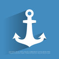 Anchor icon Royalty Free Stock Photo