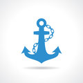 Anchor nautical icon