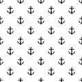 Anchor pattern, simple style