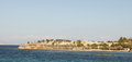 Ancient Aegina panorama Royalty Free Stock Images