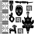 Ancient African pattern Stock Photos