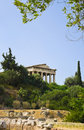Ancient Agora at Athens, Greece Stock Photos