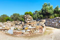 Ancient Agora view in, Athens, Greece Royalty Free Stock Photo