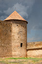 Ancient akkerman fortress at belgorod dnestrovsk y near odessa ukraine Stock Image