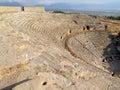 Ancient amphitheater Stock Image