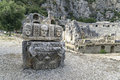 Ancient amphitheater in Myra (Demre), Turkey Royalty Free Stock Photo