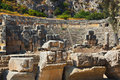 Ancient amphitheater in Myra, Turkey Royalty Free Stock Photo