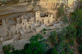 Ancient Anasazi Cliff Dwelling. Mesa Verde National Park Royalty Free Stock Photo