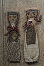 Ancient Andean Dolls Stock Image