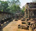 Ancient Angkor Wat Royalty Free Stock Photo