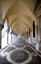 Ancient arcade, Saint Marco Square Royalty Free Stock Images