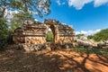 Ancient arch at Labna mayan ruins, Yucatan, Mexico Royalty Free Stock Photo