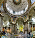 Ancient architectural masterpiece of Pantheon in Paris, France Royalty Free Stock Photo