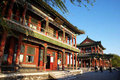 Ancient architecture in beijing of china Royalty Free Stock Photo