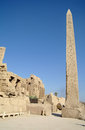Ancient architecture of karnak temple in luxor egypt Stock Photography