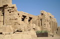 Ancient architecture of karnak temple in luxor egypt Stock Photos