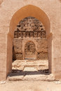 Ancient architecture in Morocco Stock Image