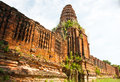 Ancient architecture from prasat nakhon luang ayutthaya thailan Stock Photos