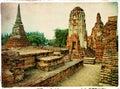 Ancient Ayutthaya -Thailand Stock Photography