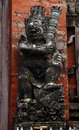 Ancient balinese idol Royalty Free Stock Images